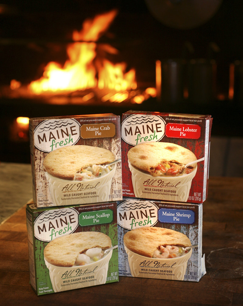 Sold under the label Maine Fresh, the pies feature sustainably-caught Maine seafood and are now in 140 Hannaford stores in the Northeast.