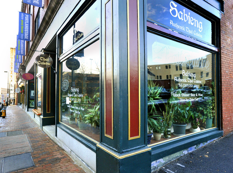 Sabieng Authentic Thai occupies a space that has changed hands many times on Forest Avenue in Portland. Pad Thai, drunken noodles and pad se-ewe are among the house standards. And don't miss the Thom Kha Gai.