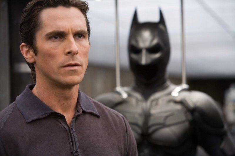 """The good: """"The Dark Knight"""" with Christian Bale."""