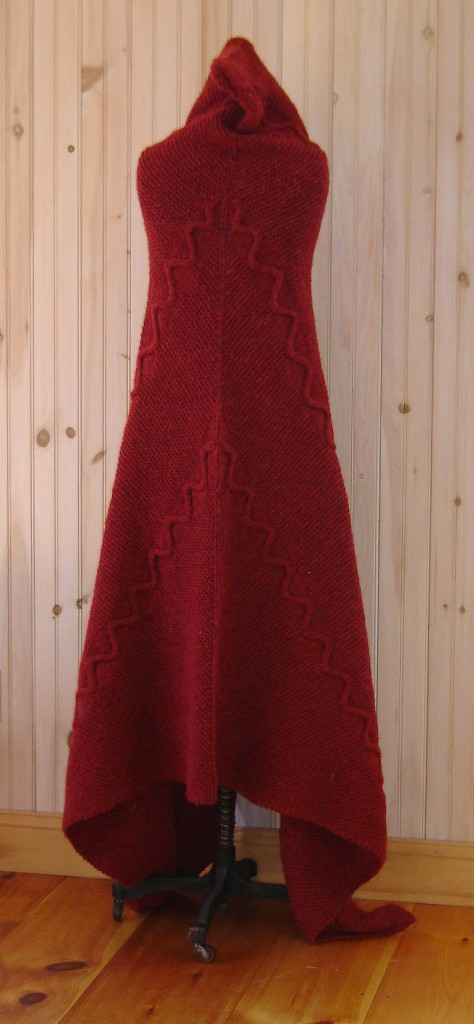 "Cobey's ""Red Serpent Cape."""