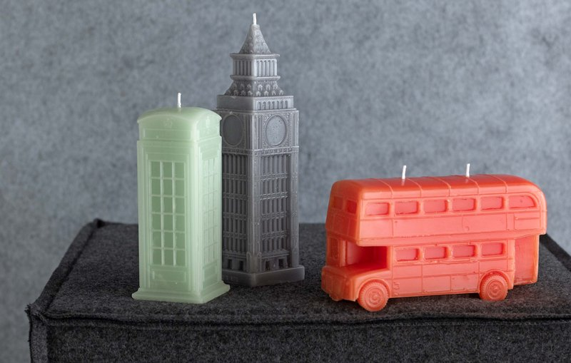 Novelty candles from Bliss Living Home