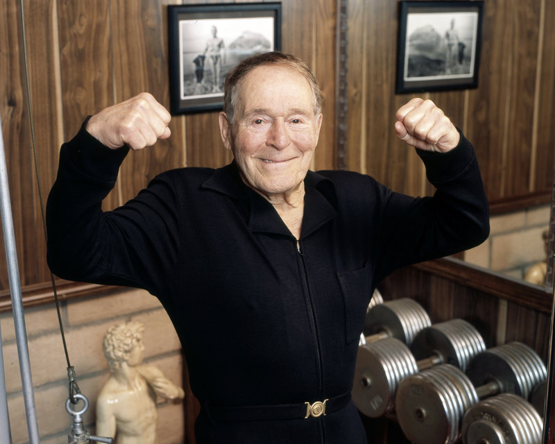 "Jack LaLanne, the ""Godfather of Fitness,"" died at the ripe, old age of 96."