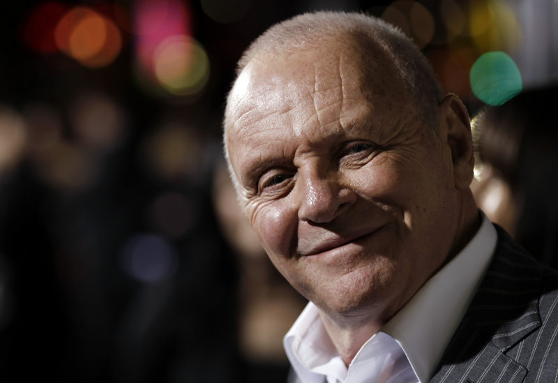 Anthony Hopkins: Hopes to play film director Hitchcock
