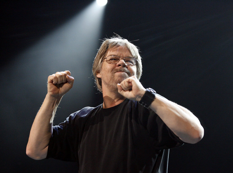 """The Associated Press Bob Seger performs during his """"Face The Promise"""" tour in 2006. Seger and his Silver Bullet Band are heading out on the road again in March."""