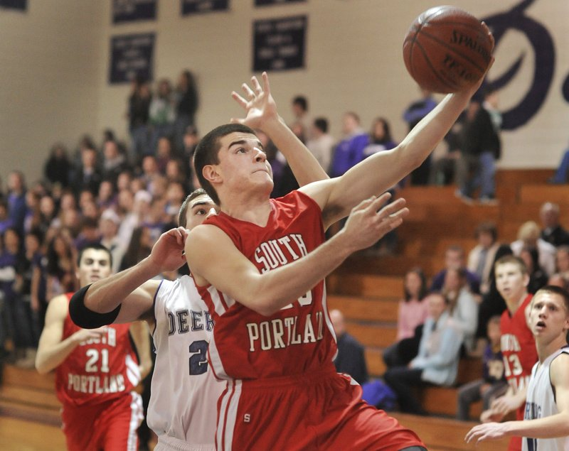 Vukasin Vignjevic says he isn't as quick now as he was before his knee injury, but the South Portland senior guard hasn't lost his shooting touch.