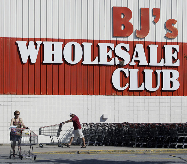 BJ's has 189 warehouse clubs in 15 states, including Maine. This one is in Salem, N.H.