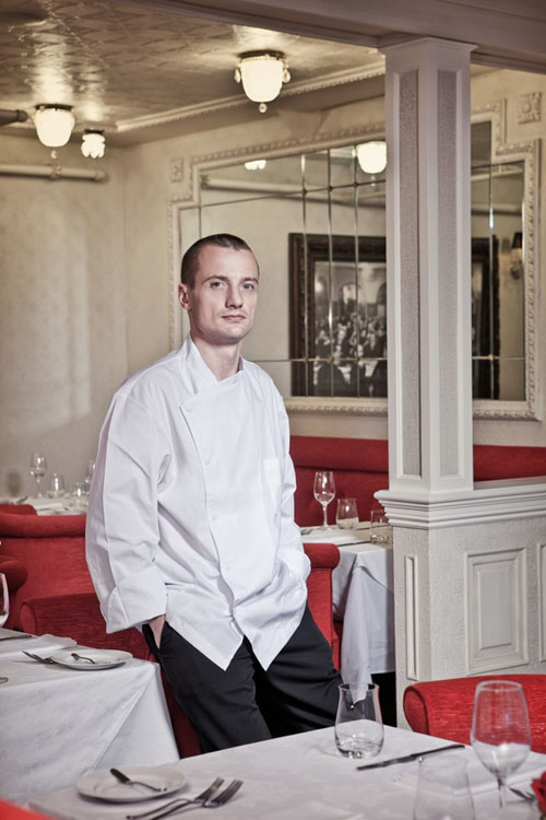 Geoffroy Deconinck is known for his innovative approach to French cuisine.
