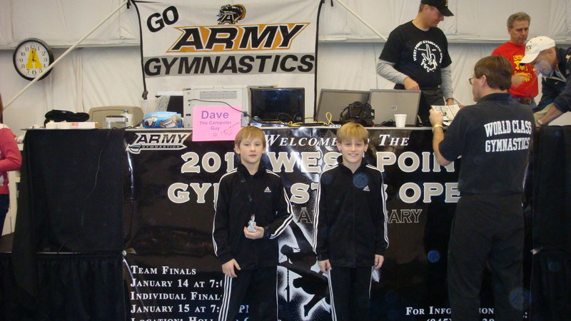Graham Shaw of Falmouth and Sam Roach of Windham each had top-five finishes at the gymnastics West Point Open, held Jan. 14-16 at the U.S. Military Academy. Shaw tied for fifth in the Level 6 10-11 age group with an all-around score of 87.2, and Roach placed second in the Level 6 8-9 division with an all-around score of 89.6.