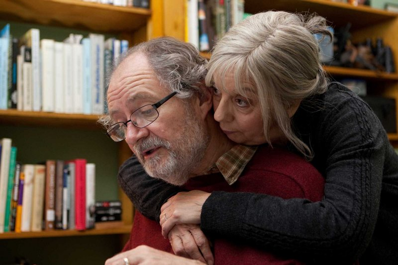 "Jim Broadbent and Ruth Sheen in ""Another Year."" Their characters are the center of a solar system of pals who pass near and recede as the seasons turn."