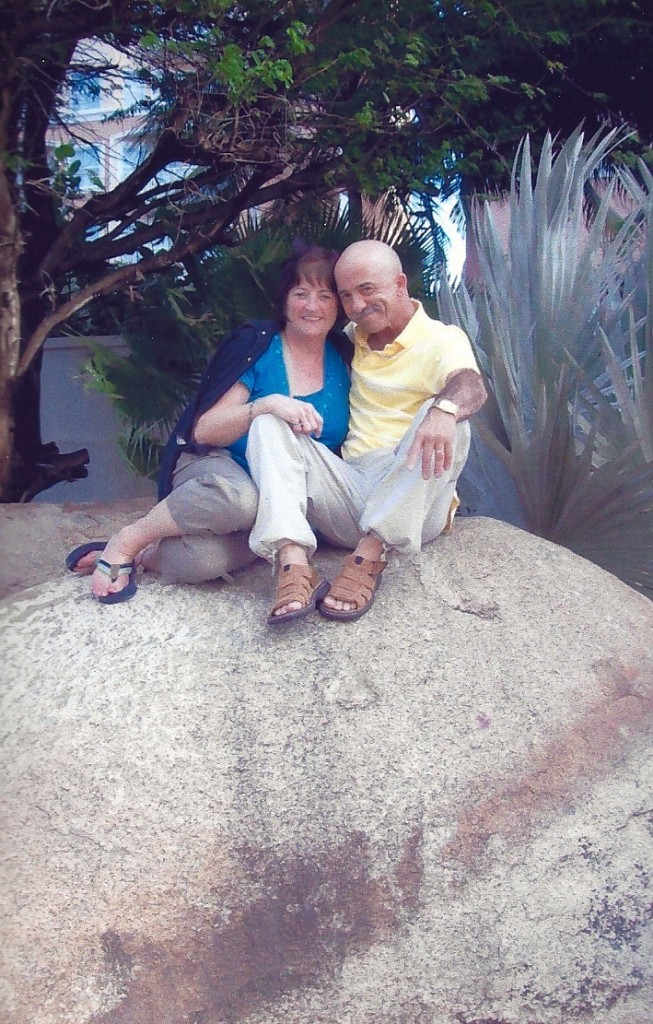 Marc Bellefeuille and his wife Annette, shown in Aruba in January of 2009, were married 38 years.