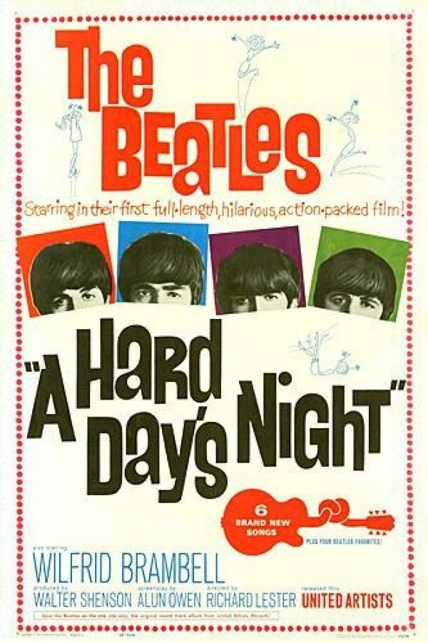 "The Teens Through Time film series continues Wednesday at the Portland Public Libary with ""A Hard Day's Night."""