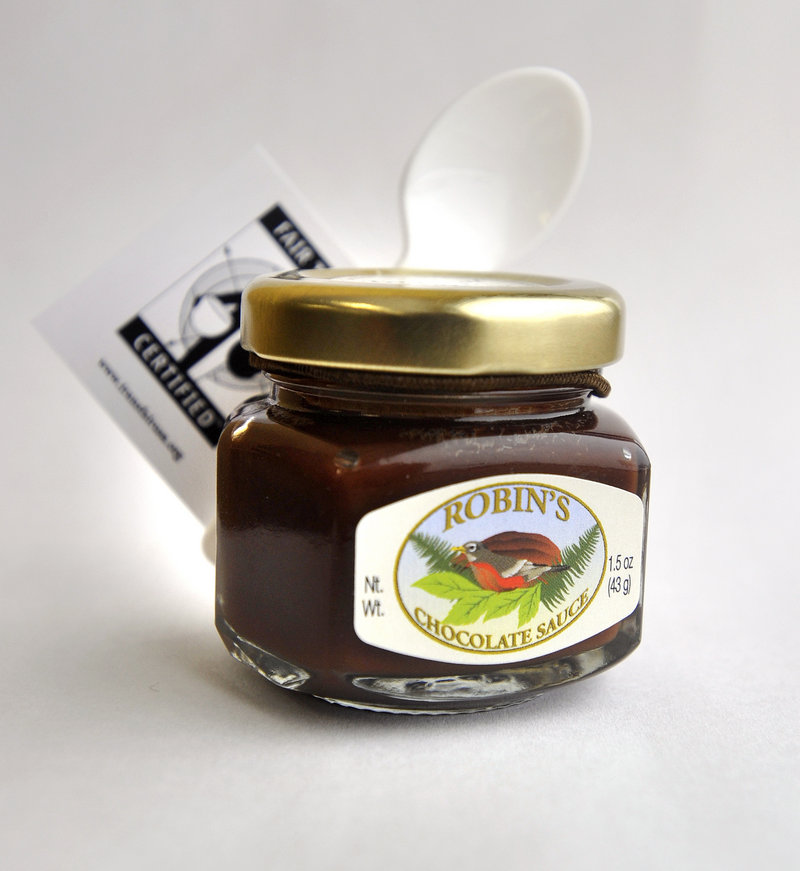 Robin's Chocolate Sauce Tropical Dark Fair Trade Certified