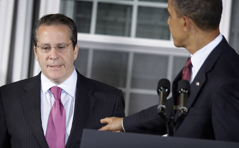 President Obama announces Gene Sperling as his new chief economic adviser on Jan. 7. Two of Sperling's early calls in his new post went to AFL-CIO President Richard Trumka and U.S. Chamber of Commerce President Thomas Donohue. Sperling and Donohue had a one-on-one lunch shortly after his appointment.
