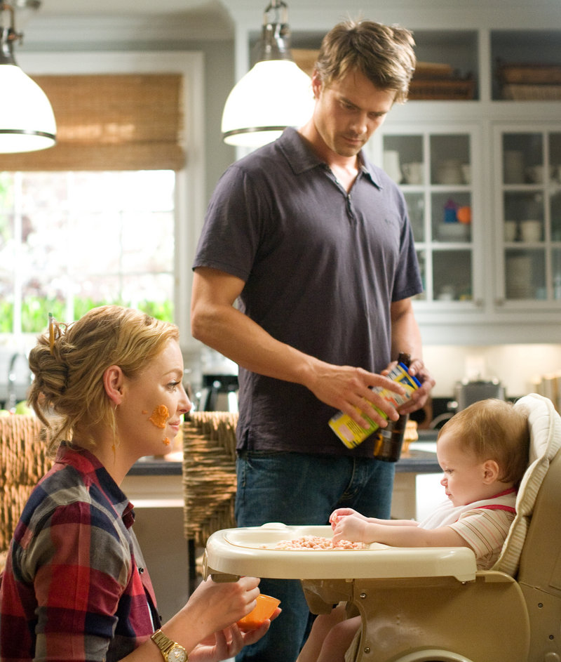 """Katherine Heigl and Josh Duhamel in """"Life as We Know It."""""""