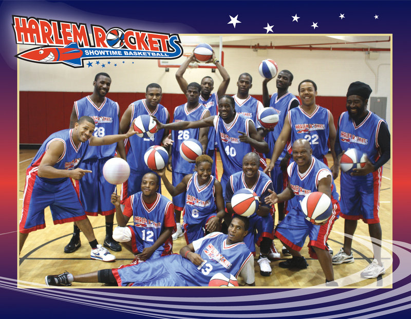 The Harlem Rockets will be in Springvale on Sunday.