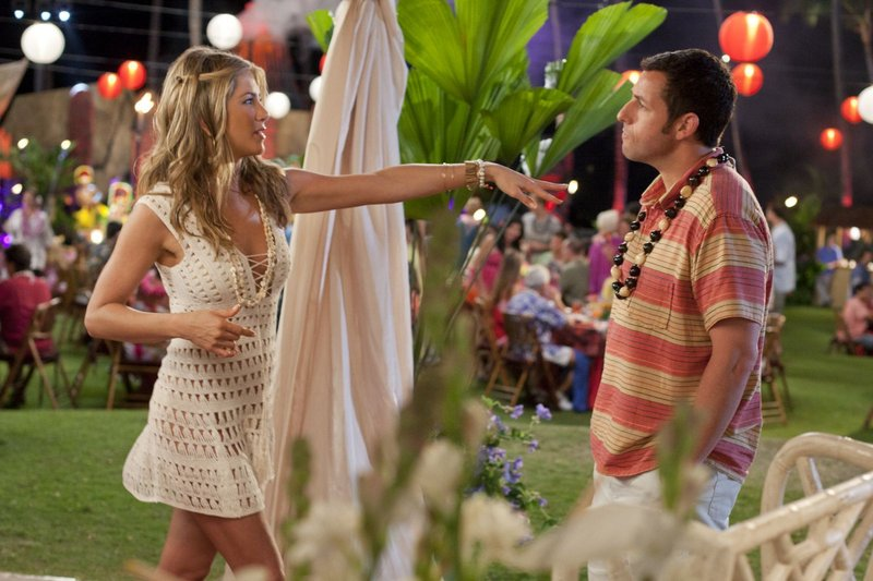"""Jennifer Aniston and Adam Sandler star in """"Just Go With It."""""""