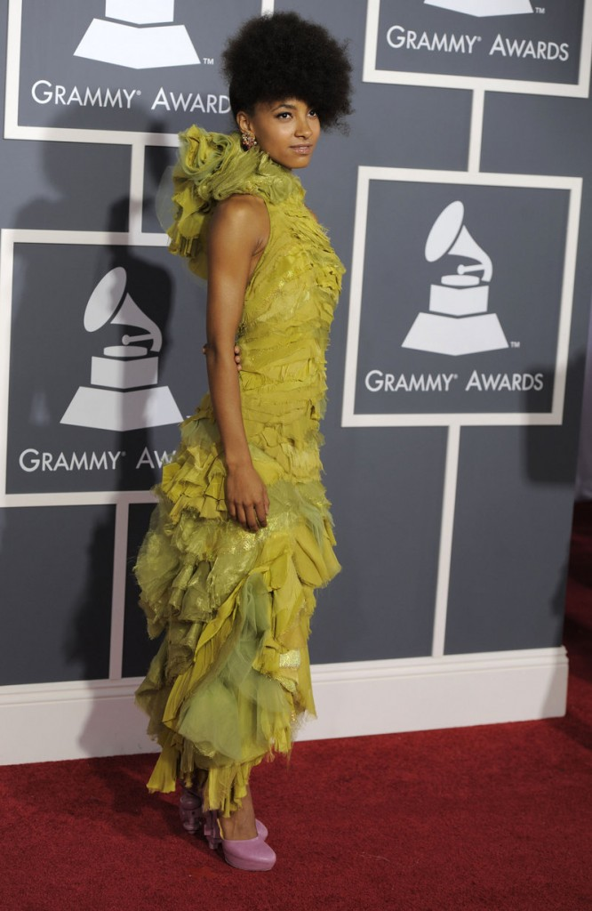Esperanza Spalding beat out Justin Bieber for best new artist.