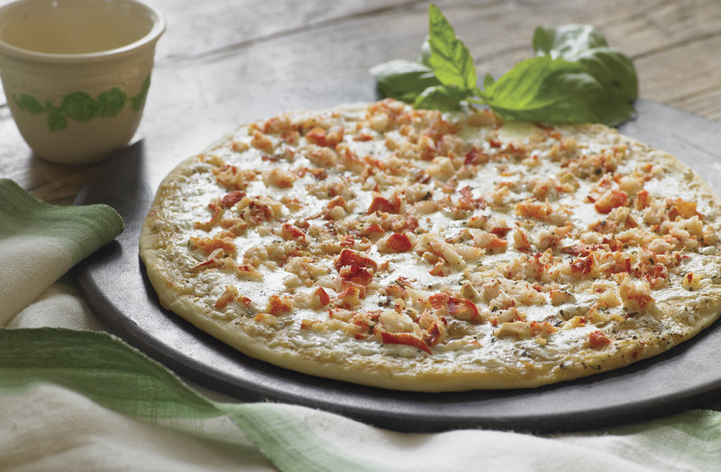 The Calendar Islands Maine Lobster Co.'s line of products includes lobster pizza.