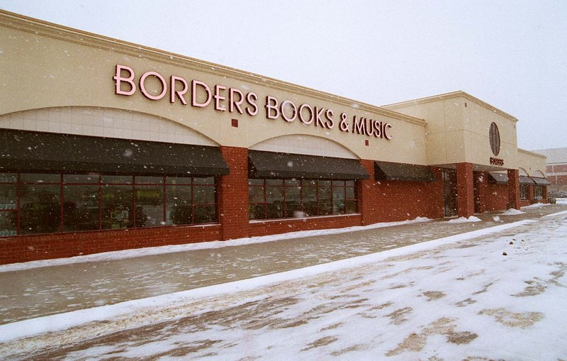 Borders operates four stores in Maine – in South Portland, above, Brunswick, Auburn and Bangor. None of those stores is on the closing list.