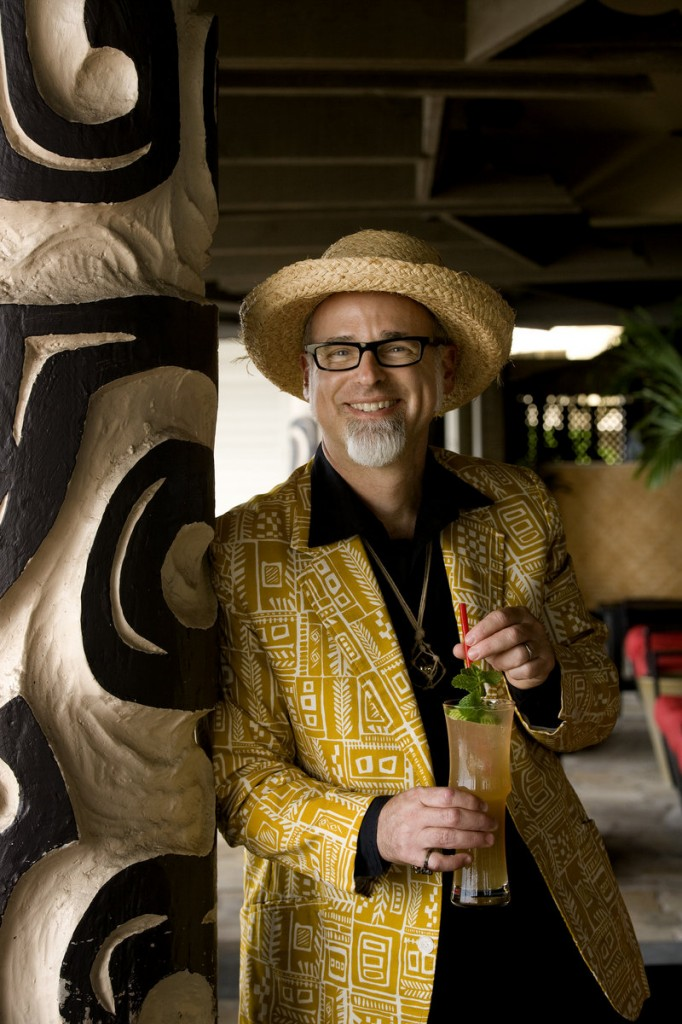 """Jeff """"Beachbum"""" Berry is the author of five books about tiki cocktails and cuisine."""