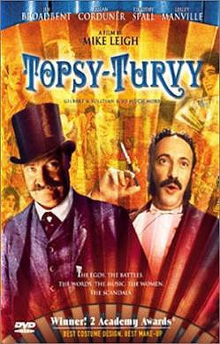 """""""Topsy Turvy,"""" playing Saturday at the Nick in the Old Port, is an engrossing change of pace for director Mike Leigh."""