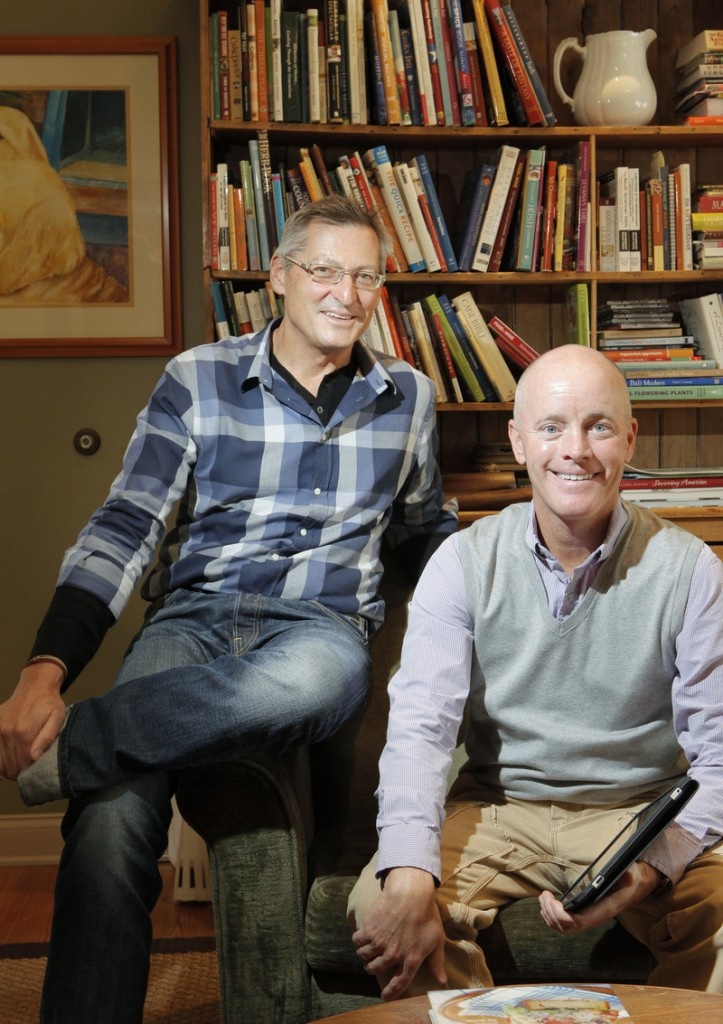 Jim Stott, Left, And Jonathan King Started Stonewall Kitchen 20 Years Ago,  First