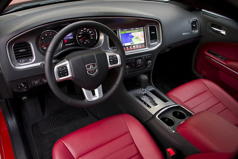 Inside, the 2011 Charger typifies the impressive interior upgrades found in all of the new and redesigned Chrysler Group models.