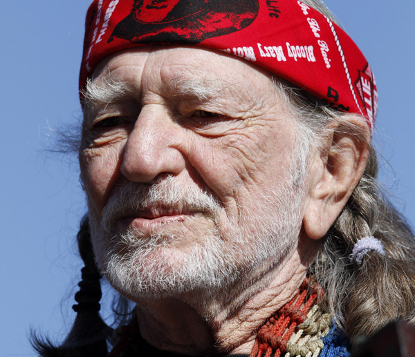 Willie Nelson was charged with marijuana possession after 6 ounces was found aboard his tour bus on Nov. 26, 2010.