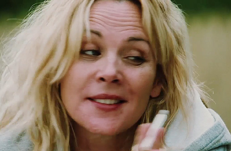Kim Cattrall as she appears in the upcoming indie flick
