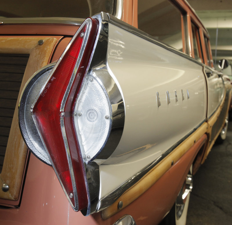 The 1958 Edsel Bermuda is one of the rarest cars in Tim Stentiford s collection. Only 779 of the cars were made. A design flaw was blamed for many accidents: The rear lights are shaped like an arrow, but point inward, opposite the direction the car would be turning.