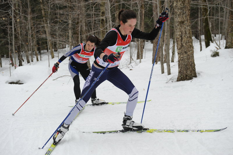 Clare Egan, a 2006 graduate of Cape Elizabeth High, is enjoying a strong Nordic ski season as a graduate student at UNH after a three-year athletic career at Wellesley College.