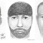 Artists sketches provided by police in Virginia show the likeness of a suspect wanted for 12 sexual assaults or attempted sexual assaults between 1997 and 2009 in Maryland, Virginia, Connecticut and Rhode Island. The sketches were made, from left, in 1998, 1999 and 2000.