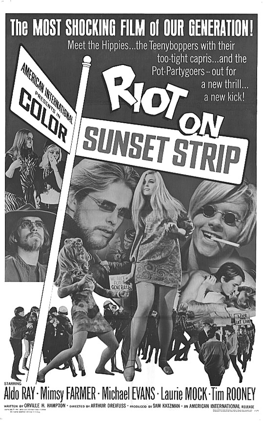 "This week's ""Teens Through Time"" offering at the Portland Public Library is 1967's ""Riot on Sunset Strip."""