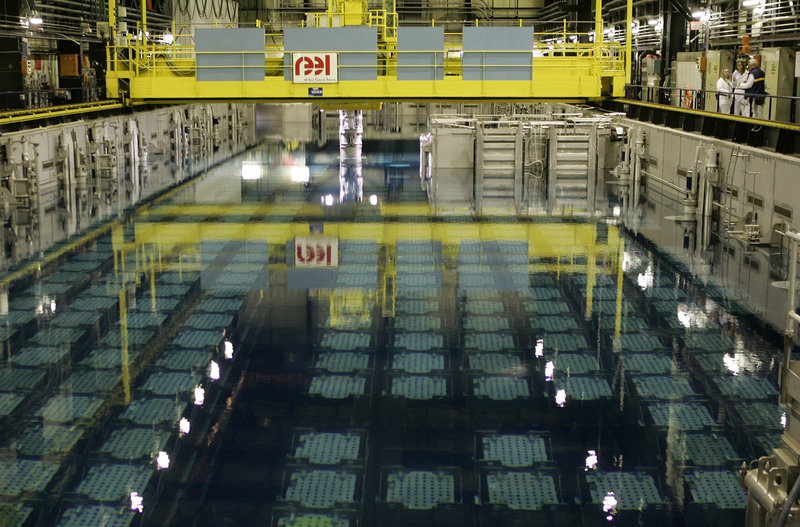 A typical U.S. nuclear power plant would have about 10 times as much spent fuel in its pools as the plant in Japan. Experts are debating whether America's fuel pools would fare as badly or worse in an accident, and whether they could be made safer.