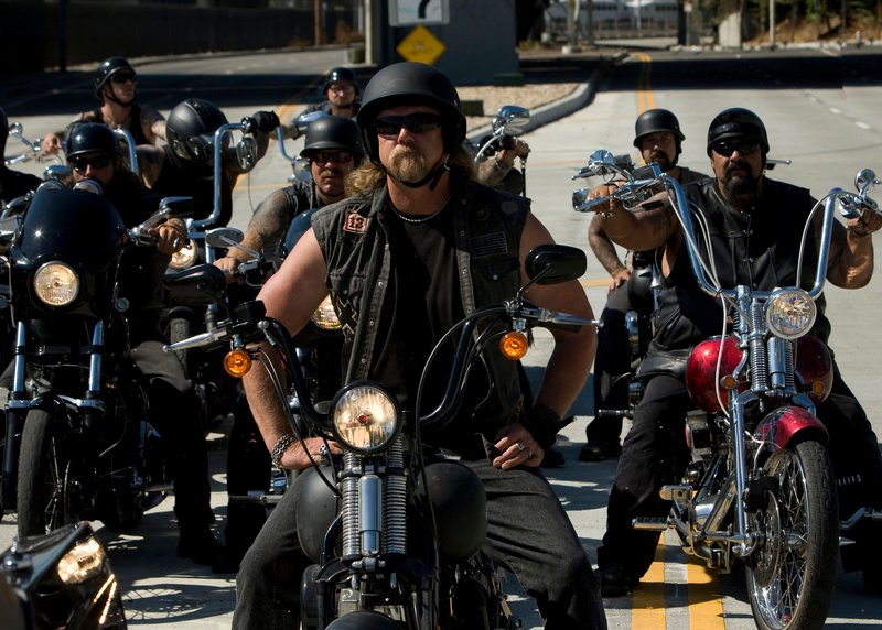 """Country singer Trace Adkins plays a biker in a scene from """"The Lincoln Lawyer,"""" which opened Friday. He's on-screen for about three minutes."""