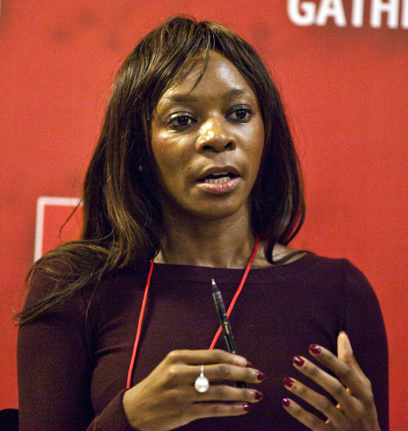 Author and economist Dambisa Moyo is a reluctant advocate of the idea of using cash to discourage young African girls from behavior that puts them at risk of contracting AIDS.