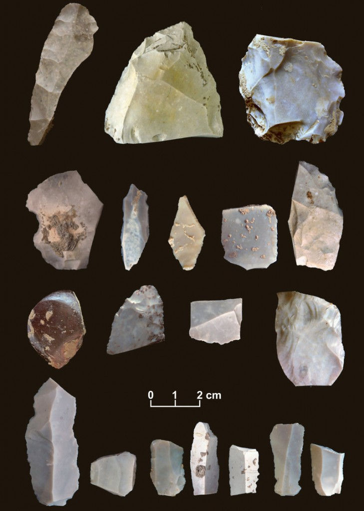 Artifacts are from a 15,500-year-old site in Texas, which pushes back the presence of humans in North America by as much as 2,500 years.
