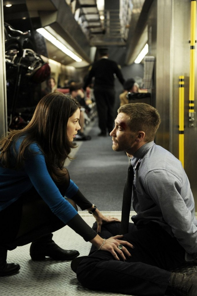 """Michelle Monaghan and Jake Gyllenhaal make the unbelievable believable with their nuanced performances in in """"Source Code."""""""