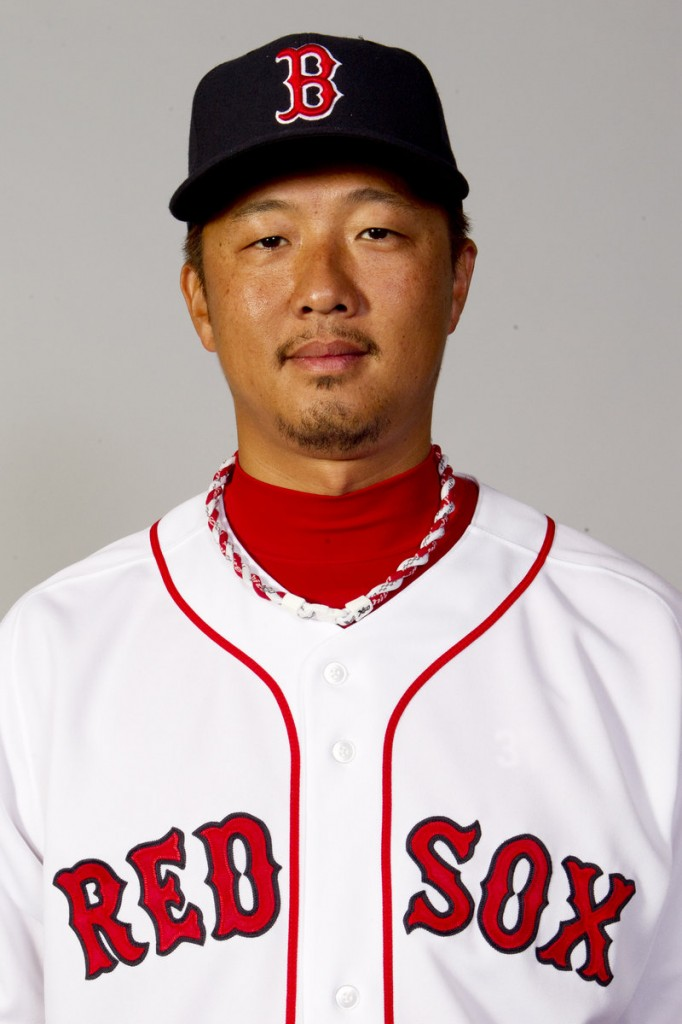 Hideki Okajima will start the year with Pawtucket.