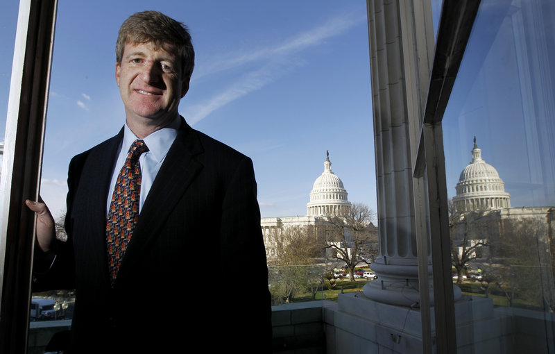 Former Rep. Patrick Kennedy, D-R.I., a lifelong bachelor, got engaged Saturday in Rhode Island to Amy Petitgout, a New Jersey middle school teacher, former aide Sean Richardson said Monday.