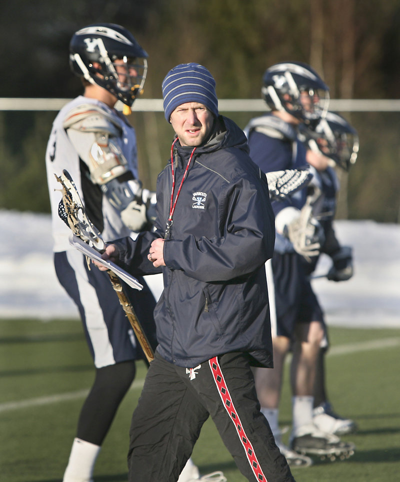 Steve Moore takes over the Yarmouth boys' lacrosse program after Craig Curry left in June. In seven seasons under Curry, the Clippers won four state Class B titles and six regional titles.