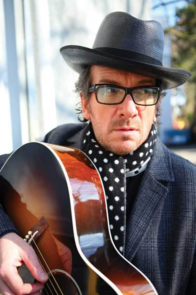 Tickets for Elvis Costello's July 28 appearance at the State Theatre in Portland go on sale Friday.