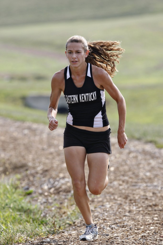 Kat Pagano was a late-blooming runner at Bonny Eagle High, but she's making up for lost time at Eastern Kentucky University.