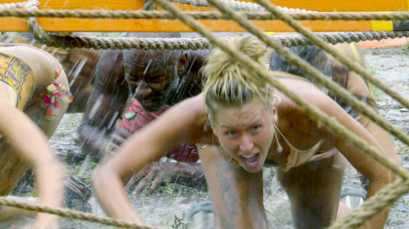 "Maine's Ashley Underwood competes on ""Survivor: Redemption Island."""