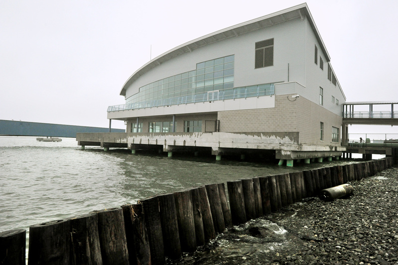 With its soaring windows and views of Casco Bay and Portland Harbor, the Ocean Gateway ship terminal has become a destination for business and social gatherings.