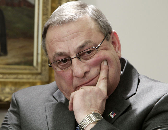 A former business executive, Gov. Paul LePage has pledged to lower taxes and reduce regulations that burden businesses. But his goals have been overshadowed by his caustic comments and the continuing battle over his removal of a labor-themed mural from a wall in the Department of Labor's headquarters.
