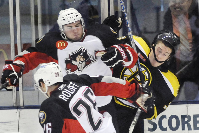 The owners of the Portland Pirates could help their cause by updating their PR, a civic center supporter says.