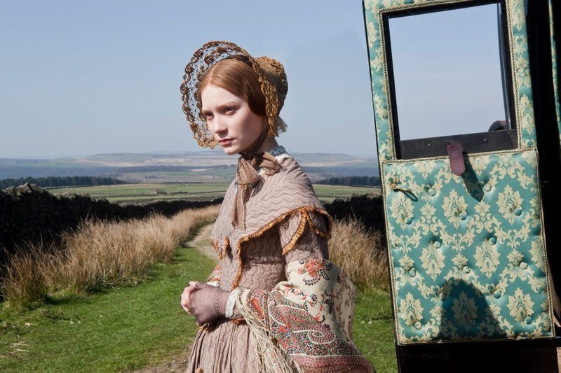 Mia Wasikowska brings Jane Eyre to life in Cary Joji Fukunaga's screen remake.