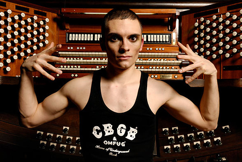 """""""Music ought to come to the audience,"""" says Cameron Carpenter, even in the case of pipe organs, which are notoriously unwieldy and location-bound. Carpenter is participating in the construction of two identical digital touring organs."""
