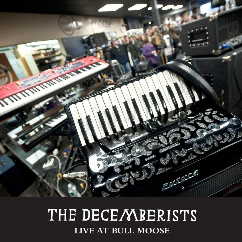 """The Decemberists' release, """"Live at Bull Moose"""""""